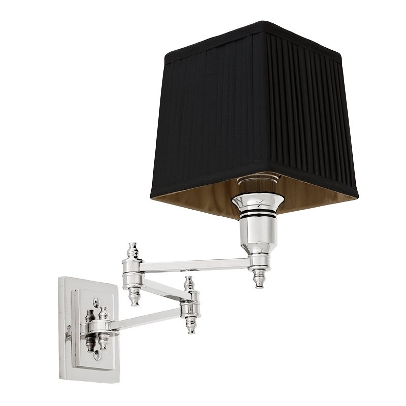 EICHHOLTZ LEXINGTON WALL LAMP SWING NKL