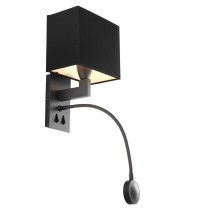 Reading Bronze Wall Lamp