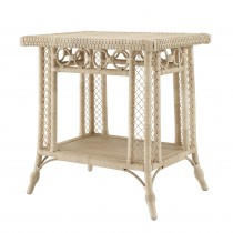 Saba Natural Rattan Side Table