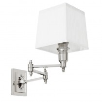 EICHHOLTZ LEXINGTON WALL LAMP SWING WHT