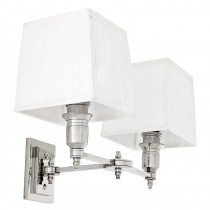 EICHHOLTZ LEXINGTON WALL LAMP DOUBLE