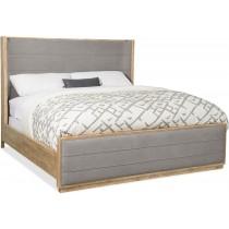 Urban Elevation King Upholstered Shelter Bed