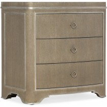 Modern Romance Brown Bedside Table