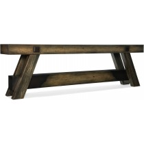 Crafted Console Table