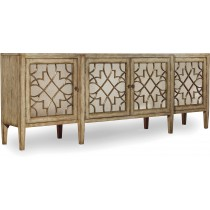 Sanctuary Four-Door Mirrored Credenza