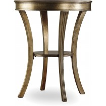 Sanctuary Round Mirrored Side Table
