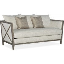 Sanctuary Medium Wood & Grey Sofa