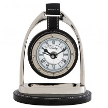 Bailey Equestrian Nickel Clock