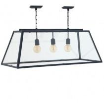 HARPERS LAMP LARGE ZINC