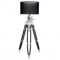 EICHHOLTZ ROYAL MARINE FLOOR LAMP BLACK