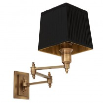 EICHHOLTZ LEXINGTON SWING WALL LAMP BRASS