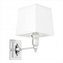 EICHHOLTZ LEXINGTON WALL LAMP SINGLE WHITE