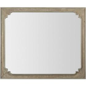 Modern Romance Brown Landscape Mirror