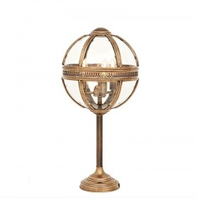 Residential Small Brass Table Lamp