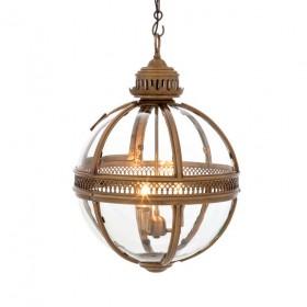 Residential Medium Brass Lantern