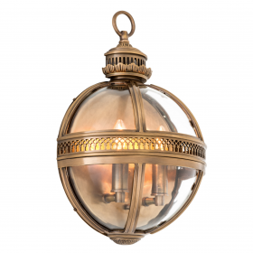 Residential Brass Wall Lamp