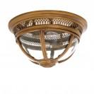CEILING LAMP RESI ANTIQUE BRASS