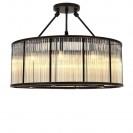 Bernardi Bronze Ceiling Lamp back