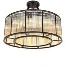Bernardi Bronze Ceiling Lamp angle