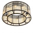 Bernardi Bronze Ceiling Lamp under