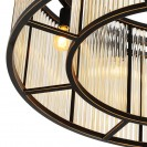 Bernardi Bronze Ceiling Lamp frame