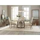Affinity Round Pedestal Dining Table lifestyle
