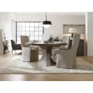 Aventura Greco Small Round Dining Table lifestyle
